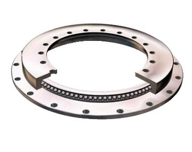带法兰盘单列四点接触转盘轴承 (无齿型)